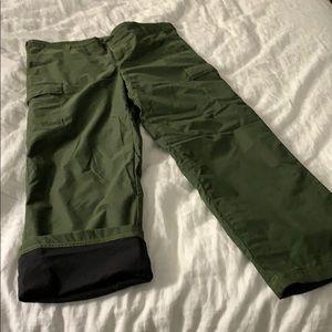 Nike ski/snowboarding pants size 8/10
